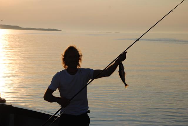 Pêche au lieu