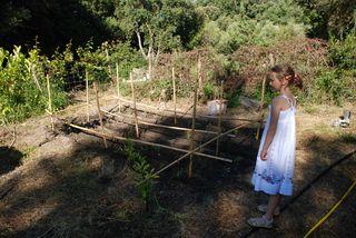 Agathe au jardin bis