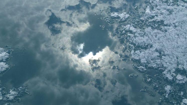 Glace et ciel