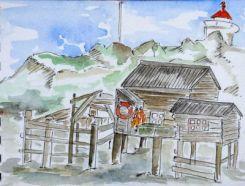 Cabane de pêcheur (Norvège)