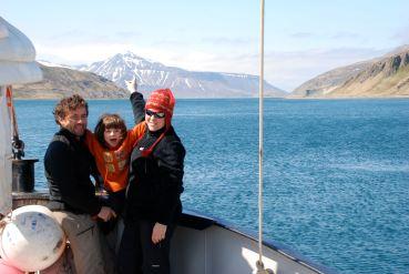 Seb, Lise et Anouk Roubinet