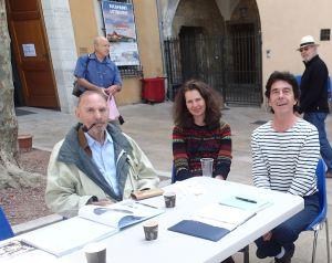 Avril: rencontre avec notre gourou: Jorn Riel à Draguignan