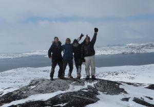 Mai: les joyeux woofers d'Aasiaat, Groenland