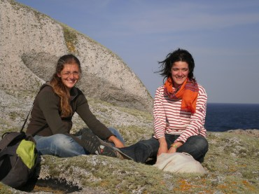 Aude Larmet et Judith Puzzuoli