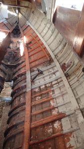 Mars: chantier des Danaïdes ! le Karain, côtre de 1948 hérité de Papa