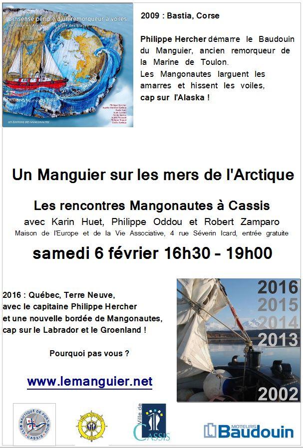 Conférence «Rencontres du Manguier» Cassis 06 février 2016
