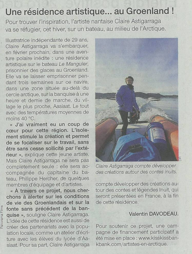 Sud-Ouest, 28/12/2016