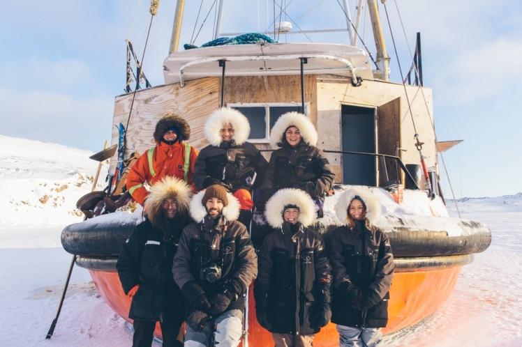Artistes en résidence en Arctique 2018