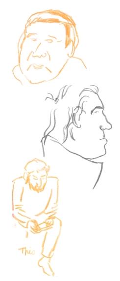 Jens-Pi, Phil et Théo