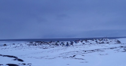 un dimanche gris à Akunnaaq