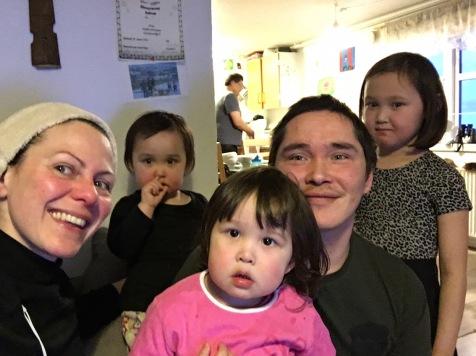La famille d'accueil à Ikamiut