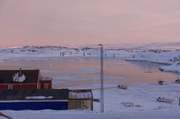 Débâcle dans le port d'Akunnaaq
